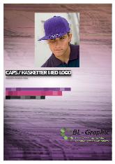 Katalog Cap / Kasketter
