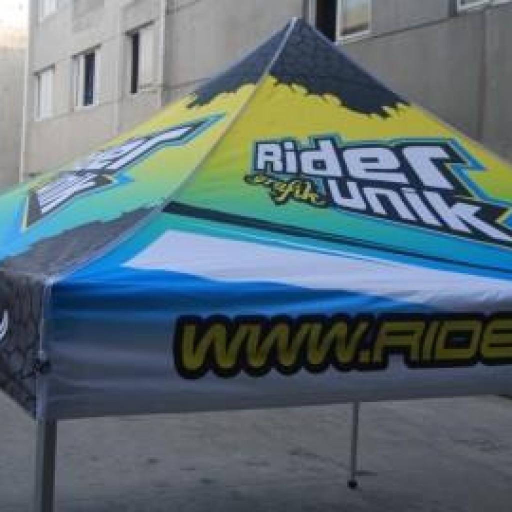 Reklametelt med logo